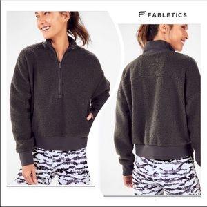 Fabletics Dream Polar Fleece Pullover, Small